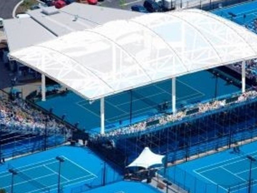 Cairns tennis centre roof