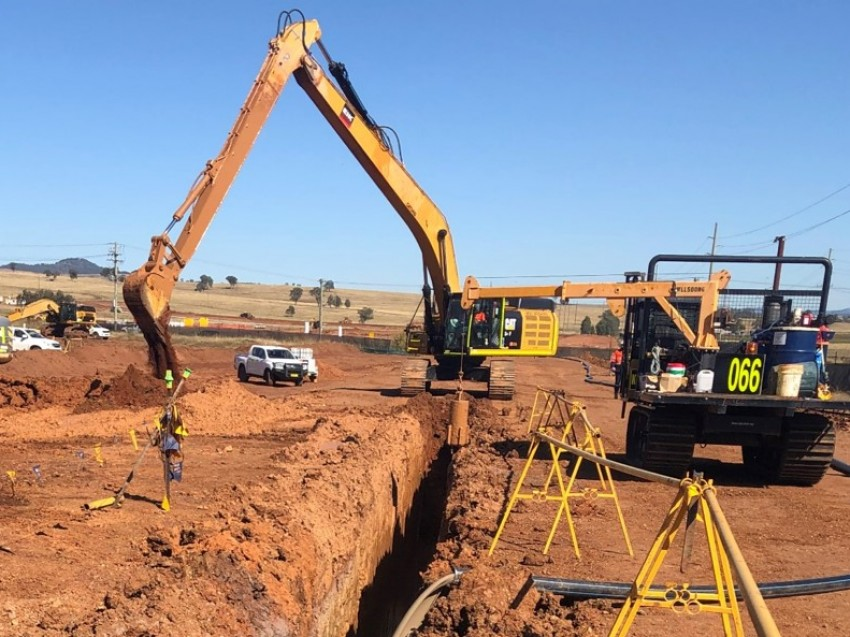 Mt Arthur Coal Extension NSW - Slurry Wall solution